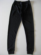 Girls/boys childrens black thermal leggings pants ages 7-8, 9-10 and 11-12 new
