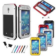Extreme Military Heavy Duty Gorilla Glass Metal Case For Samsung Galaxy S4 I9500
