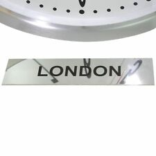 Roco Verre Custom Personalised Stainless Steel Timezone Signs