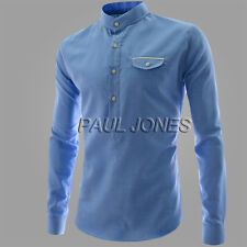 CHEAP SALE Business men Long Sleeve Casual Shirts T-Shirts Tee Tops IN XS S M L