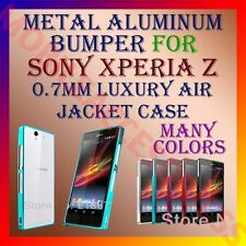 ALUMINUM BUMPER METAL CASE for SONY XPERIA Z L36H MOBILE AIR JACKET COVER FRAME