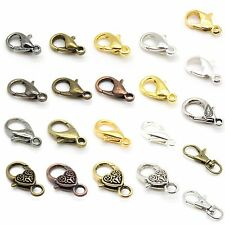 Lobster Clasps, Swivel Clasps - Many Styles & Colors - Nickel Free Alloy & Brass