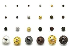 Spacer, Stardust, & Filigree Beads, Nickel Free Iron & Brass, Many Sizes & Color