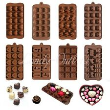 Chocolate Cake Topper Muffin Jelly Baking Silicone Bakeware Mould Ice Cube Maker