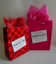 FEMALE 60th Birthday SURVIVAL KIT Novelty Gift Idea Alternative To Greeting Card