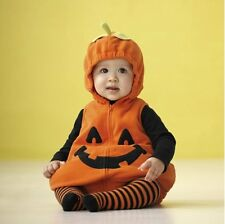 Baby Toddler Boy Girl Christmas Costume Pumpkin Fancy Dress Party Outfit 3-24M