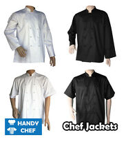 Quality Chef Jacket 3 Pack for $85 - See handy Chef Store for Chef Pants, Caps