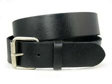 Snap On Oil-tanned Genuine Leather Belt with Roller Buckle