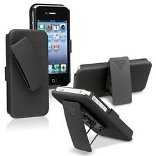 Belt Clip Holster Stand Hard Case For iPhone Samsung Sony LG Blackberry Moto HTC