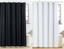 NEW STUNNING DIAMANTE GLITTER SHOWER CURTAINS - BLACK & WHITE AVAILABLE