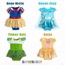 BABY GIRLS CLOTHES DISNEY BELLE DRESS PARTY OUTFITS SETS 0-3-6-9-12-18-24 MONTHS