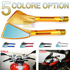 CNC Tomok Side Mirror Universal Rearview Billet 5 Color For Honda Suzuki Ducati