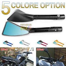 Motorcycle Universal Mirrors Rearview CNC Aluminum Billet Side Mirror US Ship
