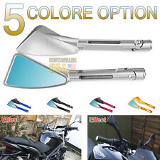 Motorcycle Rearview CNC Billet Side Mirrors For Honda Ducati Universal US Stock