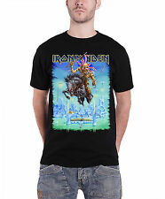 Iron Maiden Tour Trooper England 2014 Official Mens New Black T Shirt All Sizes
