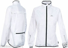 TRESPASS HYBRID Womens W'proof Breathable Reflective Cycle Cycling Bike Jacket