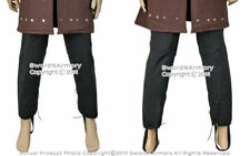 Medieval Gambeson Leg Armour Cotton Padded Leggings Protector SCA WMA LARP