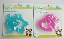 Disney Minnie Mickey Mouse water filled teether baby boy girl