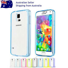 Clear Bumper Soft Jelly Hard Cover Case Samsung Galaxy S7/6/5/4/3 Note Edge+Plus