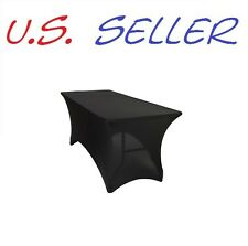 Brand New Spandex 6ft. Rectangular Tablecloth. $7.95 SHIPPING FOR ALL QUANTITIES
