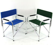 Directors Aluminium Folding Chair Camping Picnic Director Fishing Foldable Beach