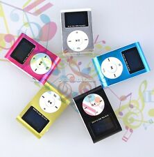 Chic Fashion Mini Clip Metal USB MP3 Music Media Player up to 8GB With Screen