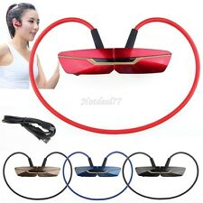 SPORTS WIRELESS BLUETOOTH STEREO HEADPHONES HEADSET FOR UNIVERSAL CELL PHONES 8H