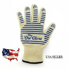 The 'Ove' Glove. Heavy Duty Oven Glove Hot Surface Handler Durable & Washable