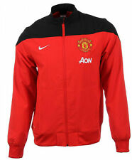 New Mens Manchester United Nike Football Sideline Sports Training Jacket