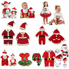 Baby Kids Christmas Boy Girl Outfit, Santa Claus Snowman Xmas Deer Party 3M-Age5