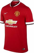 Nike Manchester United Original NEW Home Jersey 2014-15 -(Chicharito-Rooney)-Red
