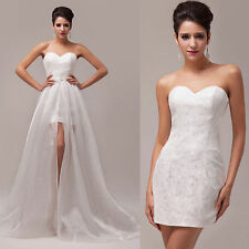 CHEAP CLEARANCE SALE Sexy Wedding Dress Bridal Brides Gown Formal Pinup Dresses