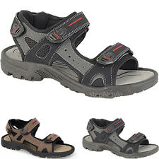 MENS VELCRO SANDALS BOYS WALKING BEACH TRAIL TOUCH FASTENING SPORTS OPEN SHOES