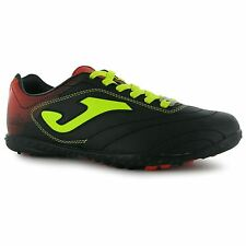 Joma Aguila Mens Astro Turf Black/Yellow Soccer Football