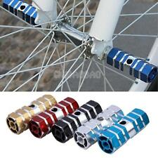 #gib 2pcs Axles Aluminum Alloy Stunt Foot Pegs Pedal for BMX Bicycle Cycling