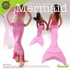UK MERMAID TAIL BARBIE PINK STAR OPTIONAL ACCESSORIES TOP ARIEL FIN GIFT HOLIDAY