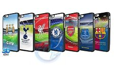 Official Football Club Team 3D Phone Case Cover for iPhone 4 4G 5 5S 6 Galaxy S4