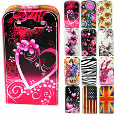 Credit Card Phone Leather Hard Cover Case Pouch For Samsung Galaxy S3 III i9300