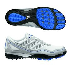 ADIDAS puremotion SPIKELESS GOLF SHOES  WHITE/SILVER/BLUE  671950  BRAND NEW!!