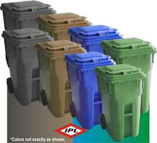 IPL 64 GALLON OUTDOOR COMMERCIAL TRASH CAN X-STRONG DURABLE 20YR LIFE EXPECTANCY