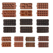 Silicone Chocolate Mold Jelly Pudding Candy Ice Cube Tray Baking Bears Hearts