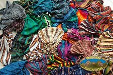 WHOLESALE LOT: GUATEMALAN ADJUSTABLE COTTON HEAD BANDS hand made headband