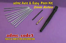 Axle & Easy Peen Kit for Dinky Corgi and Other models 2mm Dia. Axles AEP-2mm