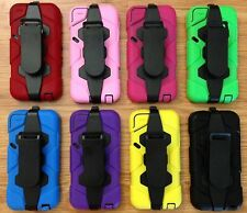 NEW Heavy Duty Tough Armor Case Cover for iPOD TOUCH 5th generation + CLIP/stand