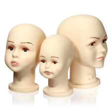 Children Mannequins Manikin Head for Hats Wig Mould Show Stand Model Display