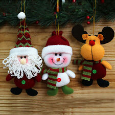 New Fabric Hang Decorations Christmas Doll Decor Christmas Holiday Gift SHB200