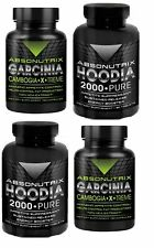 X-TREME Weight Loss Garcinia Cambogia 1550mg per dose Extract Pure Hoodia 2000
