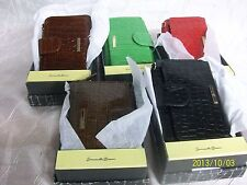 Samantha Brown Slim Leather Cell phone Wallet With Gift Box