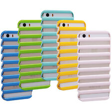 Cute Hot High Ladder Shape Hollow Phone Case Cover Skin For iPhone 5 5S Fashion
