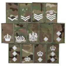 Multicam UBCAS Velcro Rank Patches